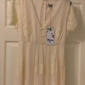 Show me your mumu lace white dress
